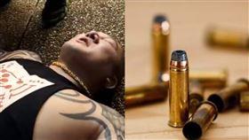 館長中槍…被子彈打到啥感覺?網揭密(組合圖/翻攝自館長臉書、Pixabay)