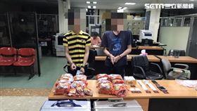 刑事局與泰國警方合作搗破跨國毒梟,並查扣21公斤海洛因。(圖/翻攝畫面)
