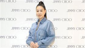 蔡詩芸出席JIMMY CHOO秋冬新品鑑賞會。(圖/品牌提供)