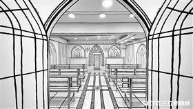 2D咖啡新莊旗艦店。(圖/記者馮珮汶攝)