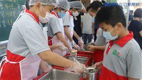 侯友宜,營養午餐,學校,學生 圖/新北市教育局提供