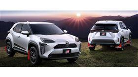 ▲TRD推出Toyota Yaris Cross改裝套件(圖/翻攝自TRD官網)