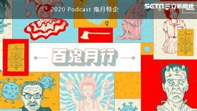 ▲SoundOn 2020 Podcast鬼月特企頁面(圖 / SoundOn 提供)