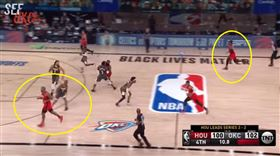NBA/保羅精準預測火箭最後一擊 NBA,季後賽,奧克拉荷馬雷霆,Chris Paul,休士頓火箭 翻攝自YouTube SEF-Oklahoma