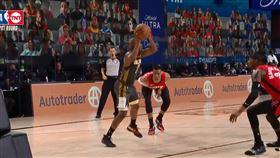 NBA/害我被賣?保羅肘擊威少蛋蛋 NBA,季後賽,奧克拉荷馬雷霆,Chris Paul,休士頓火箭,Russell Westbrook 翻攝自推特