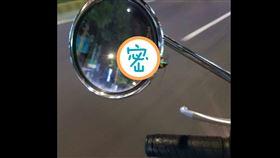 蟑螂,騎士,後照鏡,騎車
