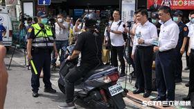 內政部與交通部共同辦理全國「路口安全大執法」。(圖/警方提供)