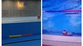 中國,內蒙古,泳池,男童,大號,求償(圖/翻攝自梨視頻)