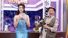 徐乃麟與林真亦出席《星光歡樂城》第三季首錄記者會。(圖/記者林聖凱攝影)