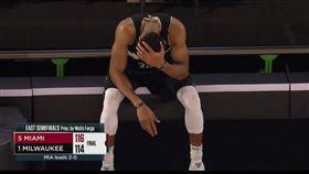 NBA/好心疼!戰犯字母哥霸氣盡失 NBA,季後賽,密爾瓦基公鹿,Giannis Antetokounmpo 翻攝自推特