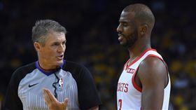 NBA/保羅哈登都恨G7裁判 NBA,季後賽,奧克拉荷馬雷霆,Chris Paul,休士頓火箭,Scott Foster 翻攝自推特