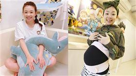 二伯,產後,5個月,身材,比基尼,蔡阿嘎,圖/翻攝自IG