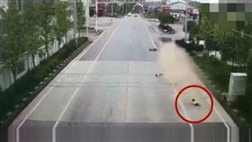 中國大陸,湖南,車禍(圖/翻攝自YouTube)
