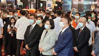 中國口罩混進國家隊 小英怒不可遏