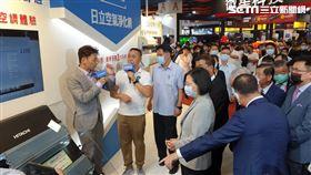 蔡英文總統出席「2020台北3C電腦電器空調影音大展開幕記者會」(黎冠志攝)