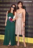 陽帆老婆Julie的18歲女兒Angelina出席2021 Resort 時尚大秀。(記者邱榮吉/攝影)
