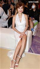 翁姿曼出席2021 Resort 時尚大秀。(記者邱榮吉/攝影)
