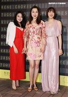 張瓊姿千金郭思瑜 郭思維姊妹出席2021 Resort 時尚大秀。(記者邱榮吉/攝影)