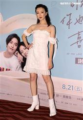 「可不可以、你也剛好喜歡我」演員李杏。(記者邱榮吉/攝影)