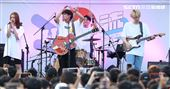 告五人臺北流行音樂中心「嗨!北流」開幕演唱會戶外場。(記者邱榮吉/攝影)