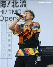 婁峻碩臺北流行音樂中心「嗨!北流」開幕演唱會戶外場。(記者邱榮吉/攝影)