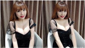 劉樂妍「噁心台蛙」辦推特!大露H奶 讚數淒慘才9個,圖/翻攝自劉樂妍推特