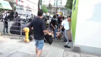 九龍大遊行示威 港警逮捕近300人