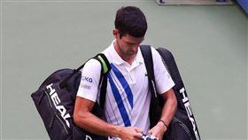 誤擊女線審喉部 球王喬科維奇道歉了 美網,美國網球公開賽,Novak Djokovic,喬科維奇,線審,取消資格 翻攝自喬科維奇臉書