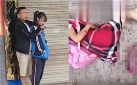 湖南張家界桑植縣十一中校門口發生隨機砍人事件(圖/翻攝自搜狐新聞)