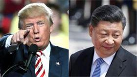 美國總統川普、中國大陸國家主席習近平。(組合圖/資料照)