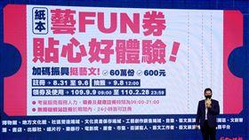 紙本藝FUN券 圖/文化部提供