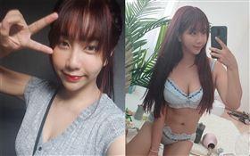 台灣知名情色直播主吳夢夢/在PTT發表特版分享鏟肉(抽脂)成果。翻攝PTT