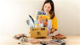 奧丁丁市集與多家食品業者合作,獨家推出三款中秋限量烤肉箱。(圖/奧丁丁提供)