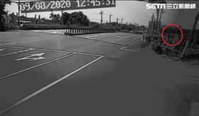 騎士,自撞,橋墩,墜橋