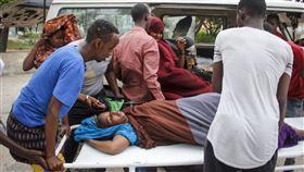 自殺炸彈客襲擊索馬利亞首都餐廳 釀3死7傷,圖/美聯社/達志影像