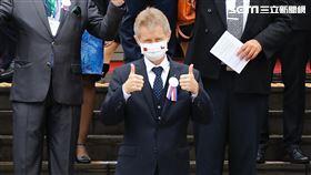 捷克議長韋德齊於立法院發表演說。(圖/記者林聖凱攝影)