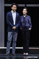《我們與惡的距離》舞台劇演員群。(圖/記者林聖凱攝影)