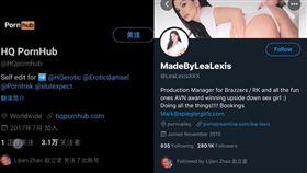 趙立堅,中國外交部,中國,色情女星,Lea Lexis(圖/翻攝畫面)