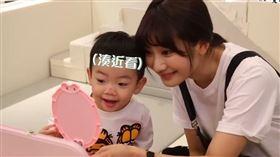 YouTuber「愛莉莎莎」/蔡桃貴/蔡阿嘎。(圖/翻攝自YouTube)
