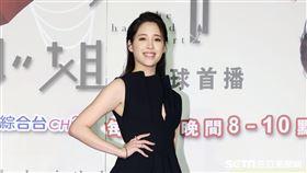 奇幻愛情偶像劇「腦波小姐」演員歐陽妮妮。(記者邱榮吉/攝影)