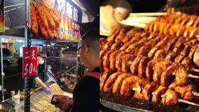 烤麵筋、台灣、夜市、中國、小吃。(組圖/翻攝自爆系知識家臉書、每日頭條)