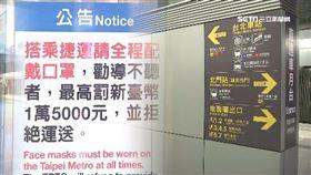 捷運,戴口罩,恐嚇,開罰,大眾運輸工具
