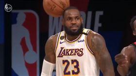 NBA/大膽!球K詹皇頭…他秒道歉 NBA,季後賽,洛杉磯湖人,LeBron James,休士頓火箭,Austin Rivers 翻攝自YouTube