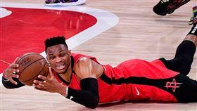 NBA/火箭淘汰 低迷威少甩鍋武肺 NBA,休士頓火箭,Russell Westbrook,武漢肺炎 翻攝自推特