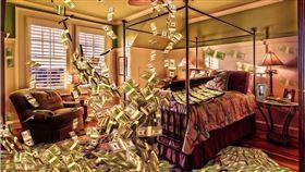▲滿屋子的錢(圖/翻攝自pixabay)