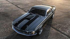 ▲復刻版1969年Mustang Mach 1。(圖/翻攝網站)