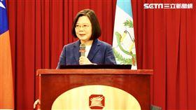 蔡英文出席「中美洲獨立199週年紀念酒會」。(圖/記者陳政宇攝影)