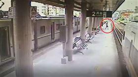 羅東車站,撞飛,監視器,太魯閣號