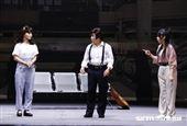 明華園大戲《鯤鯓平卷》孫翠鳳領軍彩排。(圖/記者林聖凱攝影)
