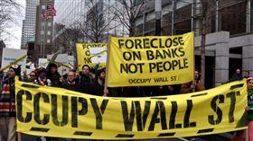 佔領華爾街運動(圖/Visual hunt)